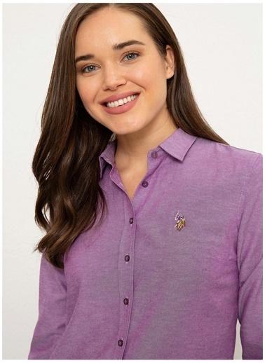 U.S. Polo Assn. U.S. Polo Assn.  Menekşe Gömlek Mor